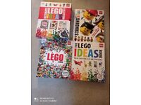 Lego collection of ideas books 3 books in total