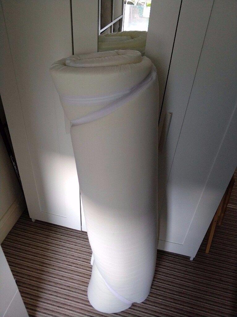 Memory foam mattress topper double