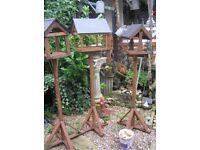 Bird feeding tables