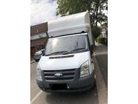 Ford transit Luton van with tail lift 59 plate with 167k mileage with full service history