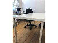 Free: white tables/desks
