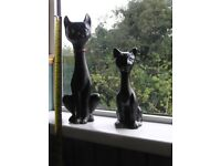 2 adorable/collectable cats from period around 1950/60s