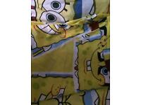 Spongebob single bedding.