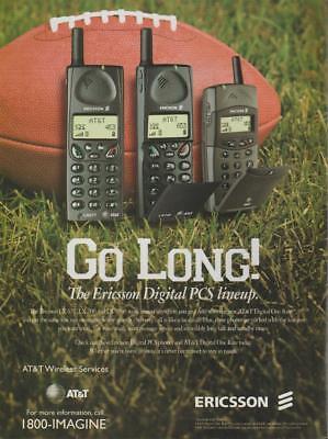 Ericsson PCS Digital Telephone PRINT AD 1998 LX Models AT&T Wireless  (Wireless Digital Telephone)