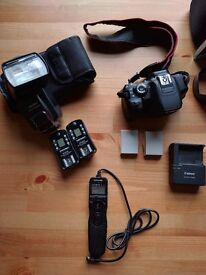 Canon 650D + Yongnuo Flashgun and Triggers + Intervallometer