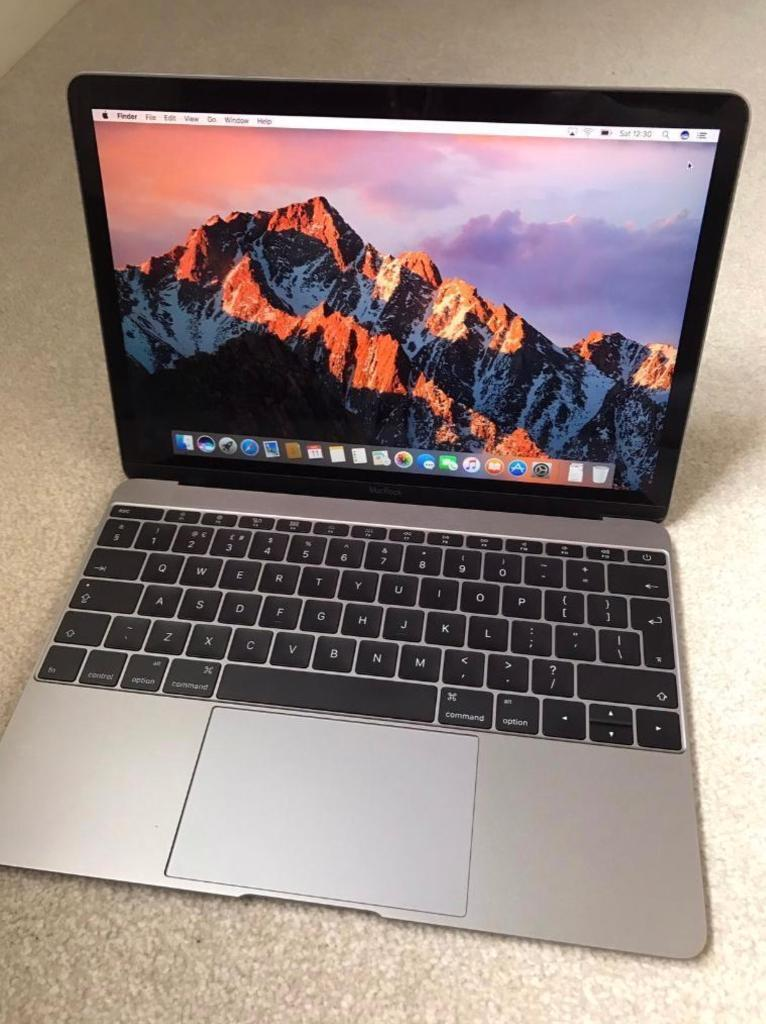 Apple MacBook 12 inch Space Grey 256GB with USB Hubin Quedgeley, GloucestershireGumtree - Apple MacBook 12 inch in Space Grey finish for sale. Excellent condition with an external USB hub. The hub allows the MacBook to be charged while connecting 4 other devices.MacBook comes with OS X El Capitan which can be upgraded to MacOS Sierra...