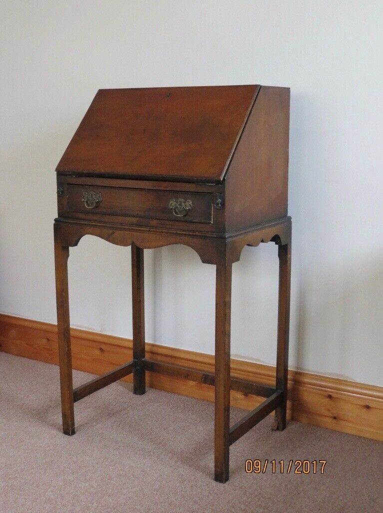 Small vintage writing desk
