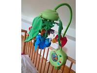 Fisher price rainforest cot mobile