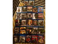 27 Bluray dvds