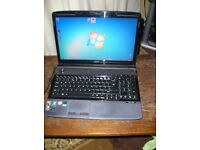 "Acer Aspire 6530,16"" Screen, AMD Turion X 2,RM70(Dual Core)@ 2.0 GHz, Laptop PC, Windows 7 Pro 64Bit"