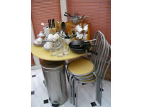 Student Flat - Kitchen Accessories, Table & chairs plus Study Desk & Chair ** REDUCED FOR QUICK SALE