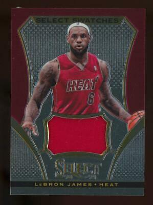 2014 Panini Select Swatches #7 LeBron James Jersey