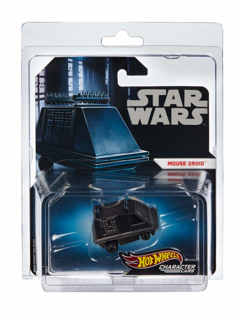 SDCC 2019 Exclusive Mattel Hot Wheels Star Wars Mouse Droid