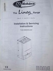 Gas Boiler, Vokera Linear 28 for Spares or Repair