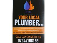 Plumber local Portsmouth DRM plumbing services