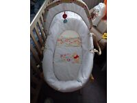 Disney Winnie The Pooh Moses Basket And Stand