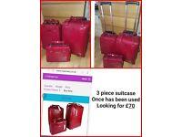 3 piece suitcase/luggage
