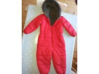 Children's snowsuits, wellies and cosy boots, immaculate condition