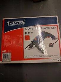 Hammer drill, 230v-810w, Used about 4 times. Works perfectly.