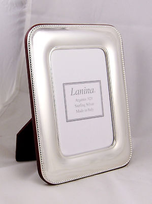 Italian Sterling Silver Picture frame 4X6