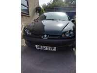 Peugeot 206, 2.0L, £30 Road Tax per year