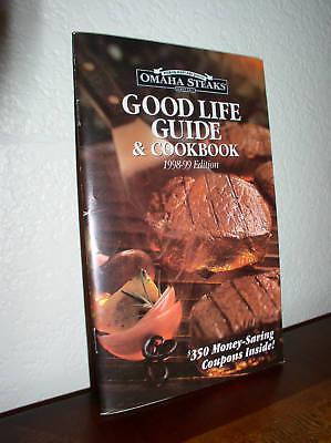 Omaha Steaks Good Life Guide   Cookbook 98 99   00 01
