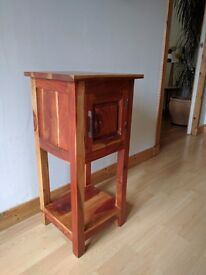 Lovely mango wood corner unit with cupboard
