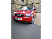 Audi A2 1.4 tdi SE, Leather/ Open Sky Roof/ Bose/ Full SH/ Full MOT/ VGC