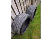 265/30 R19 Autogrip Tyres (Pair) Good tread