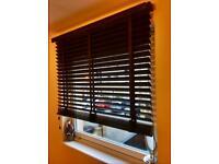 2 * Wooden Window Blinds