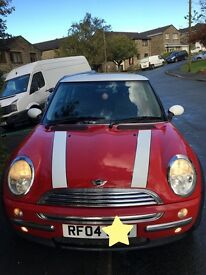 MINI COOPER 1.6 CHILLI PACK 2004 FULL SERVICE HISTORY EXCELLENT CONDITION HALF LEATHER