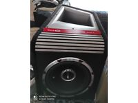 Very cheap. Vibe subwoofer. 1600 watts. Excellent quality. Collect today cheap