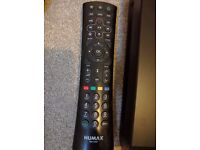Barely used humax freeview HD+ 320GB recorder with remote