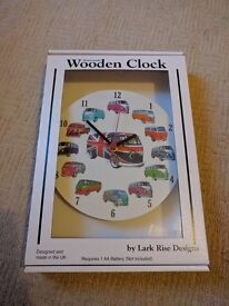 VW campervan clock