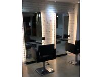 Hairdressing chair to rent at new City Centre location. Rent free periods available.
