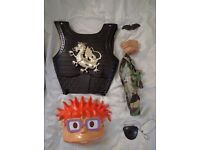 Range of Kids Fancy Dress Accessories inc. Solider Breast Plate, eye patch, pig's nose