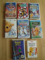 7 Kids VHS Movies - All works Great!  Selling the whole lot $7