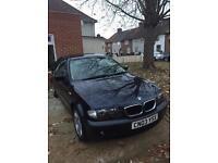 BMW 318i petrol 1 owner 2003 low mileage