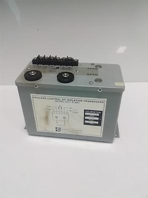 Scientific Columbus Process Control Dc Isolation Transducer 6271 P-an Pzb
