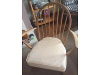Ercol blonde small rocking chair