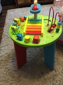Playground wooden activity centre excellent condition