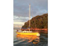 Achilles 24 Triple Keel Sail Boat