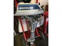 Evinrude 4hp outboard motor