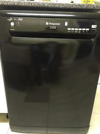 Black hot point dishwashers