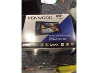 Kenwood DDX-4015DAB - DVD CD MP3 AUX USB Bluetooth Double Din Stereo DAB Radio