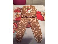Reindeer pjs size 12/14 - brand new with tags