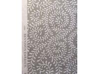 Designer Luxury Fabric by Bennison 'Reverse Kasumi' RRP £222 p/m (3 Meters 43cm) BATTERSEA / MUST GO