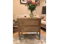 ANNIE SLOAN PAINTED SHABBY CHIC VINTAGE CHEST OF DRAWERS