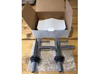 Set of Chrome basin taps - new in box