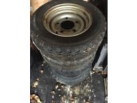 Plant Trailer Wheels And Tyres